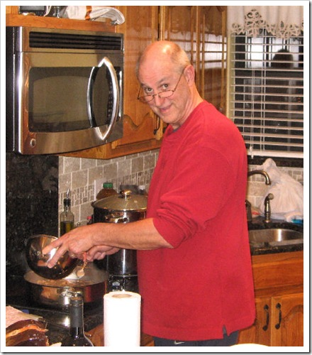 Dave Cooking