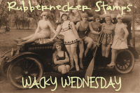 Wacky Wednesday Button girls