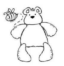 bear with bee