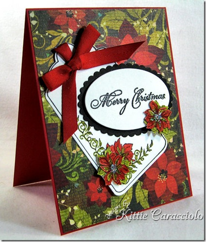 KC Our Daily Bread Poinsettia Tag Set