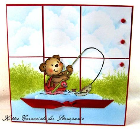 KC Penny Johnson Fishing Bear 2