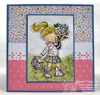 KC Gillian Roberts Flower Girl