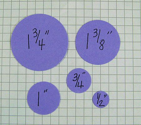 Hydrangea Circles Sizes