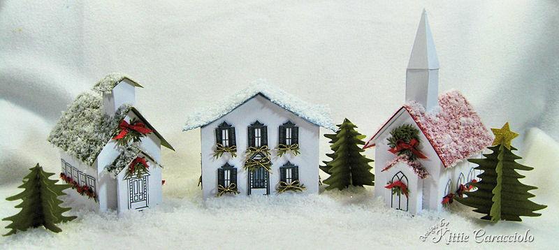 KC Martha Stewart B Village with snow