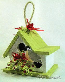 KC Wood Birdhouse 2 right