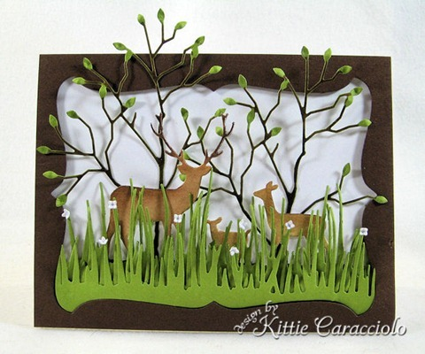 KC Memory Box Deer Trio 1 center