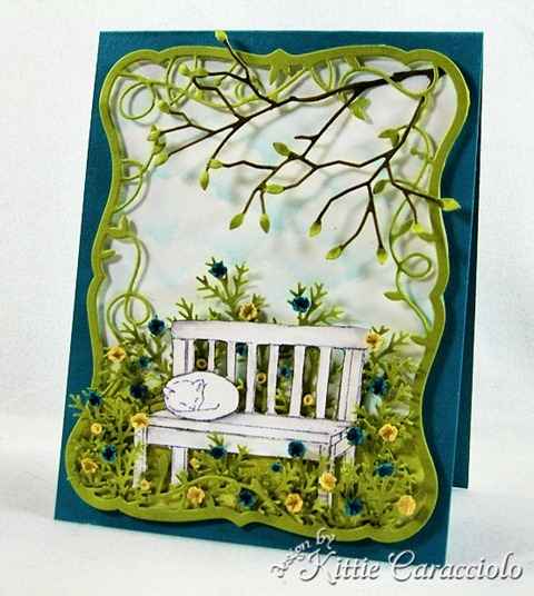 KC MEmory Box Twirling Vine Frame 1 right