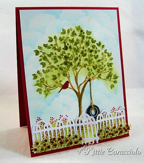 KC Impression Obsession Tree Stamps 1 left