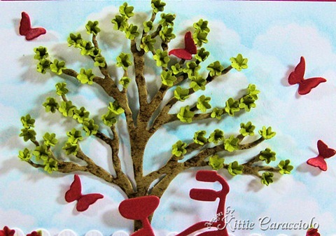 KC Impression Obsession Tree Die 3 Center Tree