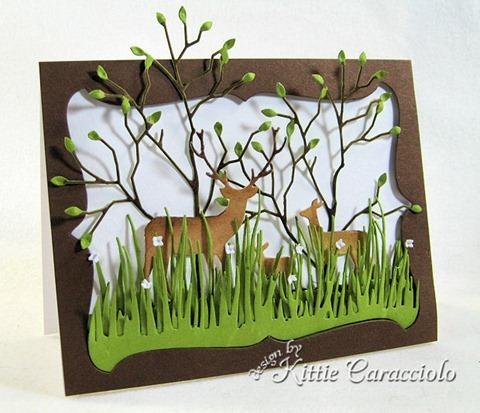 KC MEmory Box Deer Trio 1 left