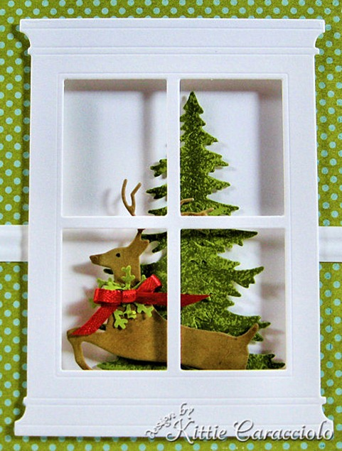 KC Memory Box Leaping Deer 2 close
