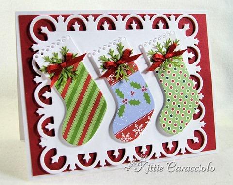 KC Memory Box Eyelet Stocking 1 left