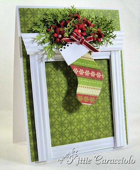 KC Memory Box Eyelet Stocking 2 left