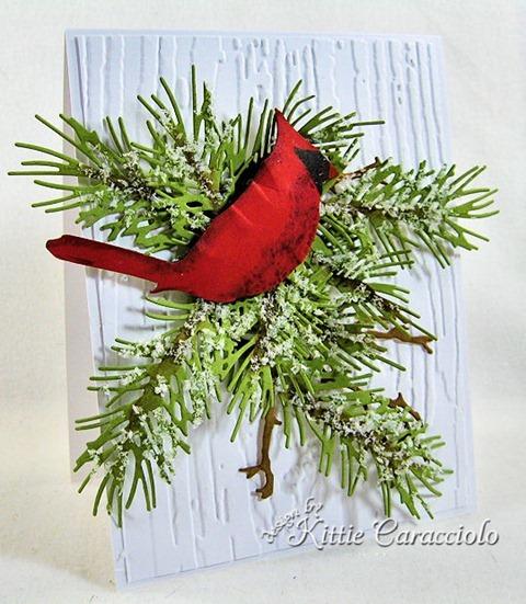 KC Sizzix Christmas Cardinal 1 left