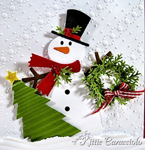 KC Sizzix Snowman 2 1 close
