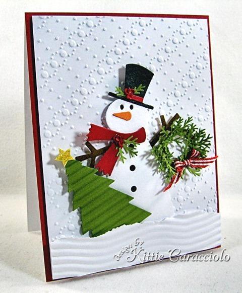 KC Sizzix Snowman 2 1 left