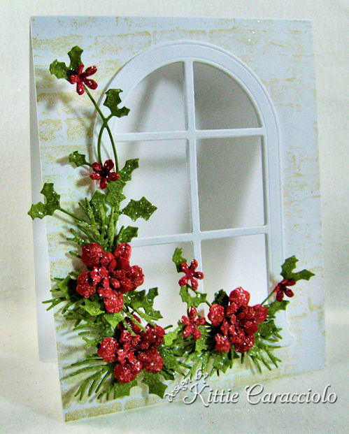 KC Poppy Stamps Grand Madison Arched Window 3 left