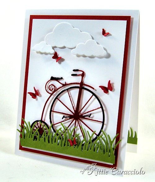 KC Memory Box Vintage Bicycle 1 right