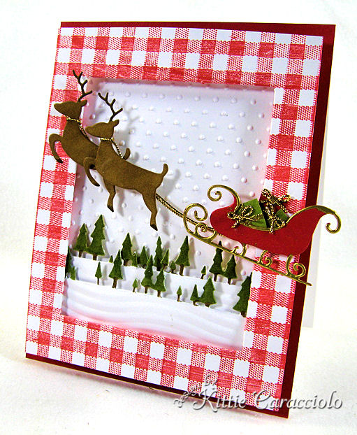 KC Savvy Deer and Sleigh 2 right