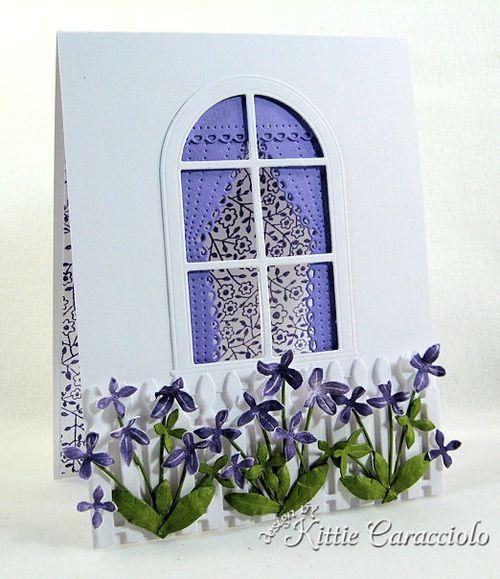 KC Memory Box Blooming Violet 1 left
