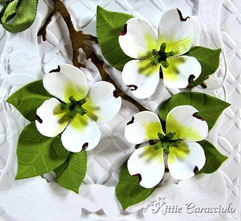KC Sizzix Flower Dogwood 1 close