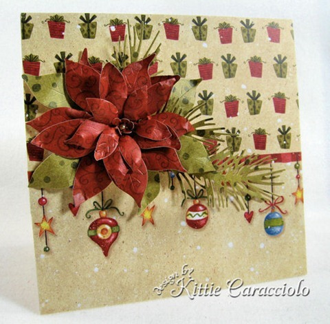 KC Poppy Stamps Blooming Poinsettia 2 left