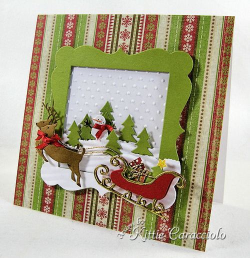 KC Savvy Deer and Sleigh 1 right