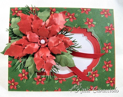 KC Sizzix Tattered Poinsettia 1 center