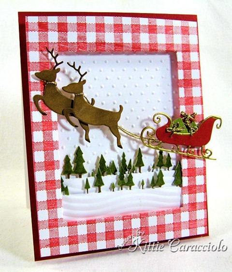 KC Savvy Deer and Sleigh 2 left