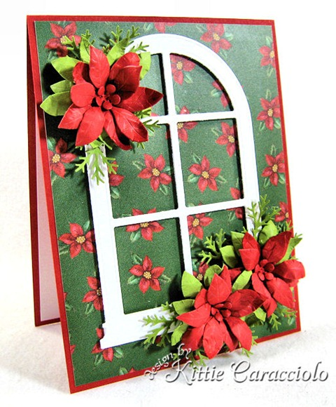 KC Poppy Stamps Blooming Poinsettia 3 left