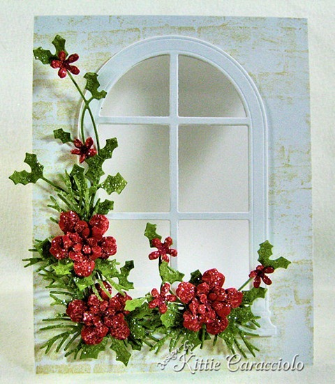 KC Poppy Stamps Grand Madison Arched Window 3 center