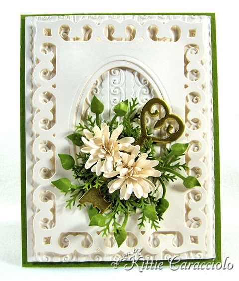 KC Sizzix Border, Label, Medallian Key 1 center