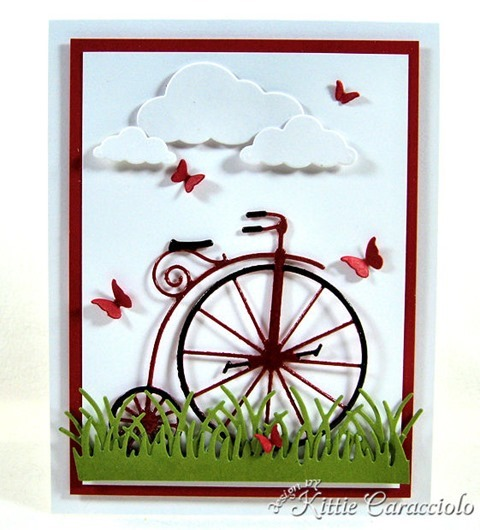 KC Memory Box Vintage Bicycle 1 center