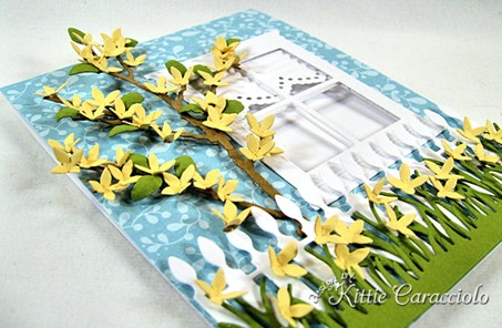 KC Sizzix Flower Forsythia 1 side
