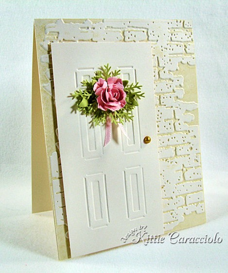 KC Sizzix Door and Wreath Set 1 left