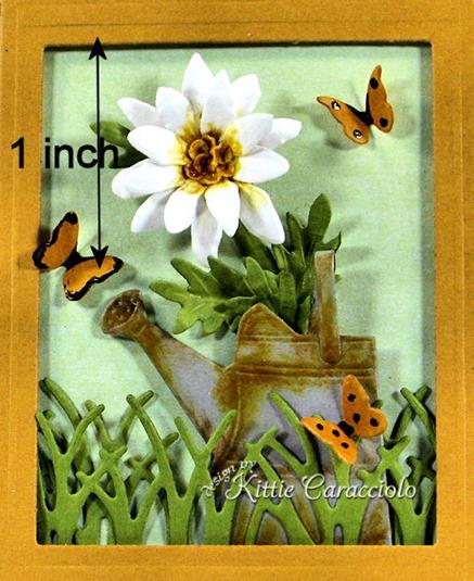 KC Sizzix Flower Mini Daisy 1 close