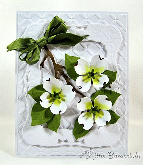 KC Sizzix Flower Dogwood 1 center