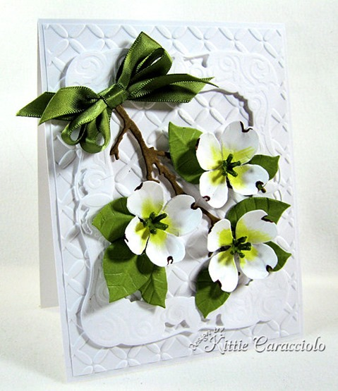 KC Sizzix Flower Dogwood 1 left