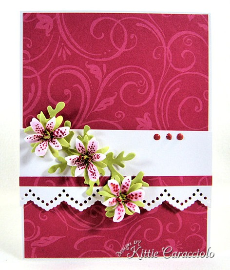 KC Sizzix Flower Mini Lily 1 center