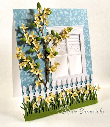 KC Sizzix Flower Forsythia 1 left