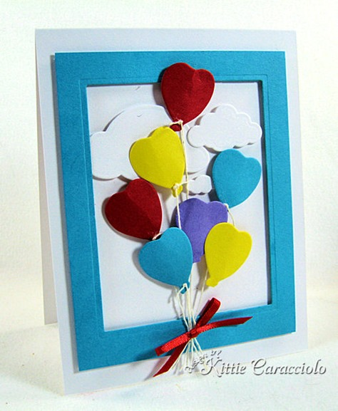 KC Impression Obsession Heart Balloon 1 left