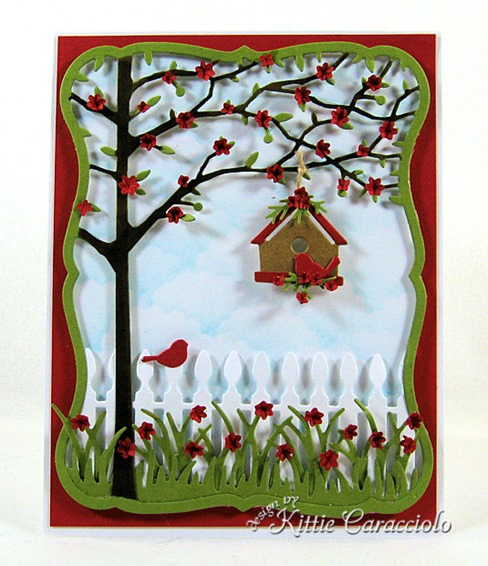 KC Memory Box Orchard Tree Frame 5 center