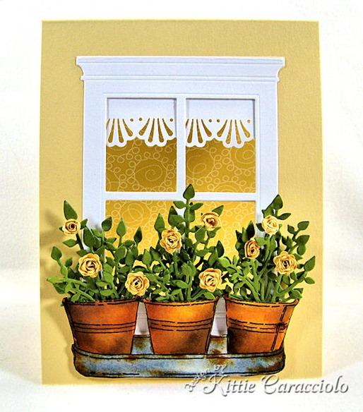 KC Impression Obsession Spiral Flower Set 3 center