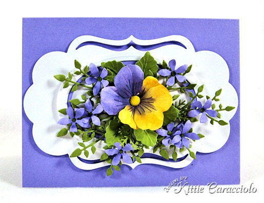 KC Sizzix Pansy 1 center