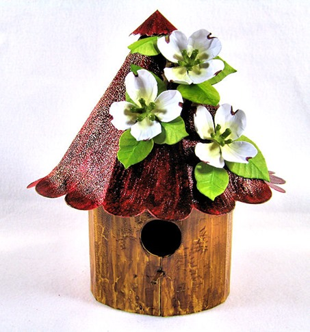 KC Sizzix Birdhouse center