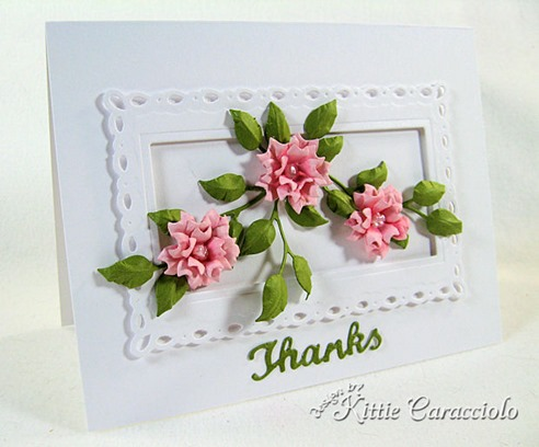 KC Elizabeth Craft Bunch of Flowers 2 1 left