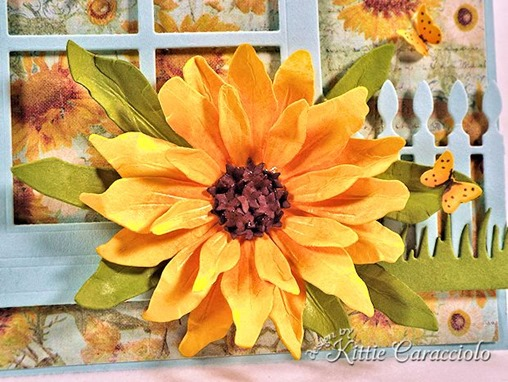KC Sizzix Black Eyed Susan 1 close