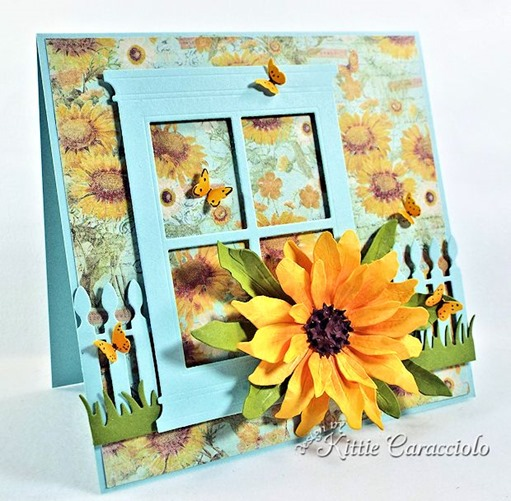 KC Sizzix Black Eyed Susan 1 left