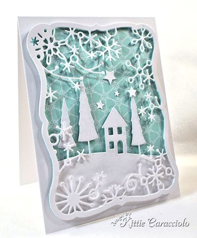 KC Memory Box Frostyville Frame 2 left