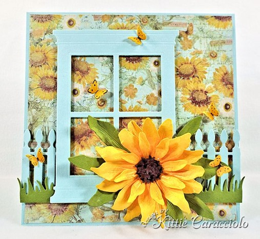 KC Sizzix Black Eyed Susan 1 center